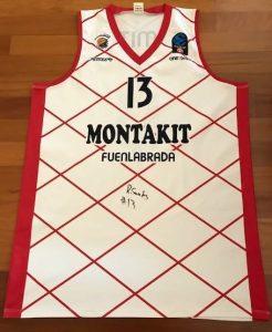 Montakit Fuenlabrada 2016 -17 away jersey