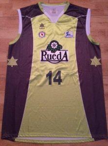 Blancos de Rueda Valladolid 2011 -12 away jersey