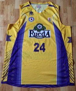 Blancos de Rueda Valladolid 2010 -11 away jersey