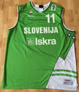 Slovenia Eurobasket 2005 Home kit