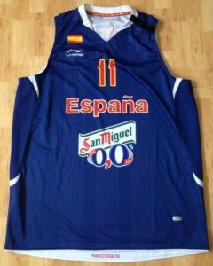 Spain Unknown blue kit circa 2011
