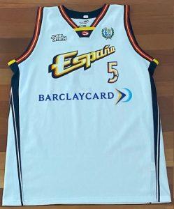 Spain 2000 -01 away jersey