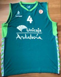 Unicaja Malaga 2009 -10 Home kit