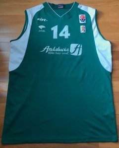 Unicaja Malaga 2003 -04 Home kit