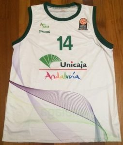 Unicaja Malaga 2015 -16 away kit