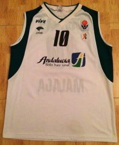 Unicaja Malaga  2004 -05 away kit