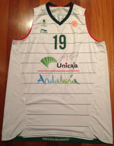 Unicaja Malaga 2011 -12 away kit