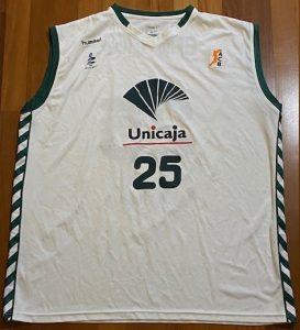 UNICAJA Malaga  2005 -06 away kit