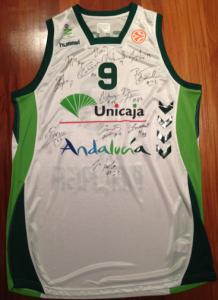 Unicaja Malaga 2008 -09 away kit