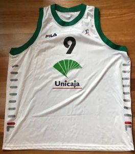 Unicaja Malaga 2002 -03 away kit