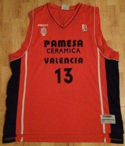 PAMESA Valencia Basket 2007 -08 Home kit