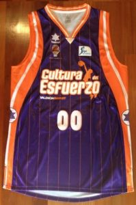 Valencia Basket 2011-2012 away jersey