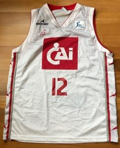 CAI Zaragoza 2014 -15 away jersey