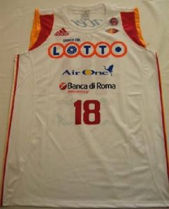 Lottomatica Roma 2007 -08 Home jersey