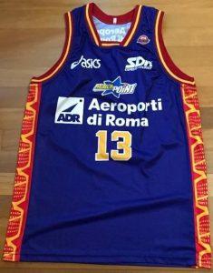 Aeroporti di Roma 2000 -01 alternative jersey