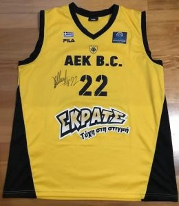 AEK Athens 2016 -17 Home jersey