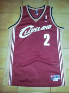 Cleveland Cavaliers 2003 -04 road kit