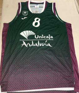 Unicaja Malaga 2019 -20 Home jersey  Eurocup version