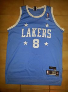 Los Angeles Lakers 2004 -05 throwback jersey