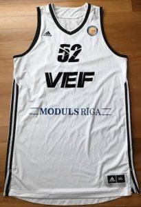 VEF Riga 2015 -16 away jersey