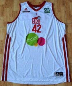 SIG Basket 2012 -13 Home jersey