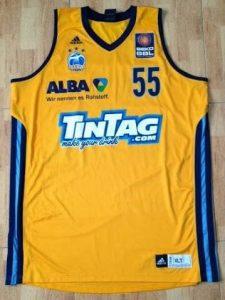 Alba Berlin 2013 – 2014 Home kit