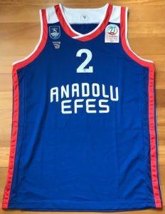 Anadolu Efes 2018 -19 Home kit