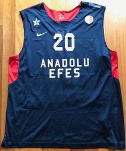 Anadolu Efes 2012 -13 euroleague alternate jersey