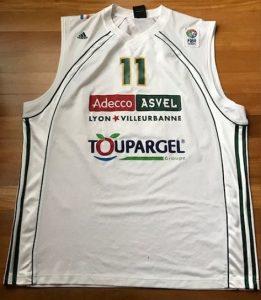 ASVEL 2006 -07 Home jersey