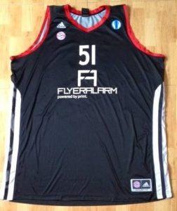 Bayern Munich 2011 -12 alternate black jersey