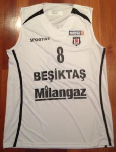Milangaz Besiktas 2011 -12 Home kit