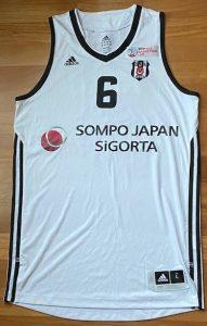 Sompo Japan Besiktas 2015 -16 Home jersey