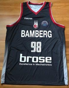 Brose Bamberg 2018 -19 alternate kit