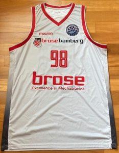 Brose Bamberg 2018 -19 Home jersey