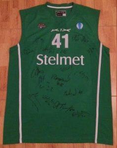 Zielona Góra 2012 -13 away jersey