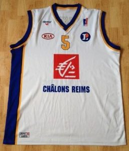 Champagne Châlons 2010 -11 Home jersey