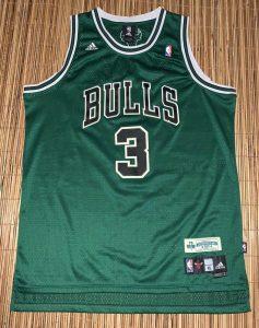 Chicago Bulls 2006 -07  St. Patricks day 2007 jersey