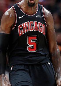 Chicago Bulls 2018 -19 black kit