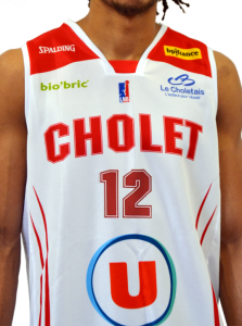 Cholet Basket 2017 -18 away jersey