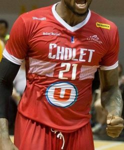 Cholet Basket 2018 -19 Home kit