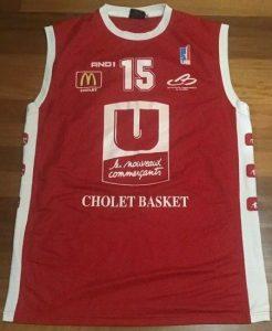 Cholet Basket 2005 -06 Home kit