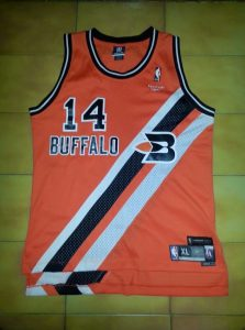 Los Angeles Clippers 2005 -06 Buffalo Braves throwback jersey