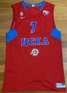 CSKA Moscow 2010 -11 Home jersey