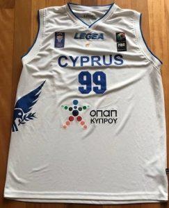 Cyprus national team 2015 -16 Home kit