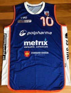 Starogard Gdański 2017 -18 away jersey