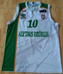 Dzūkija Alytaus 2014 -15 away jersey