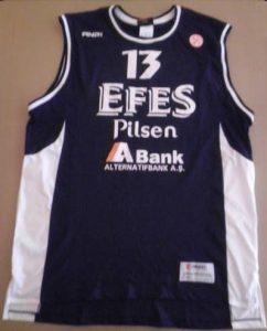 Efes Pilsen 2006 -07 Home jersey