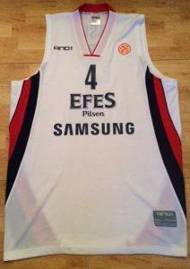 Efes Pilsen 2008 -09 away jersey