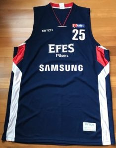 Efes Pilsen 2009 -10 Home jerseys