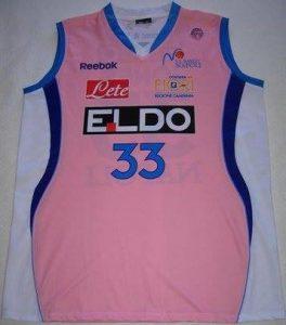 Eldo Napoli 2007 -08 pink jersey